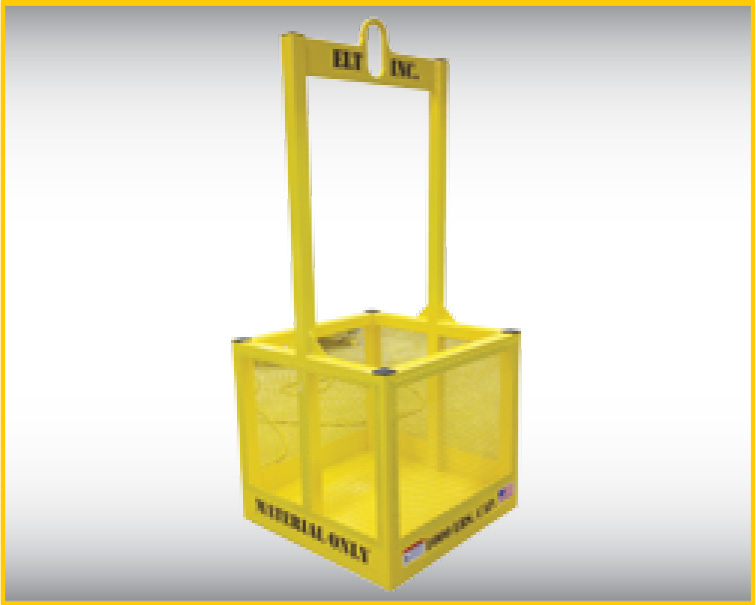 material crane basket by elt