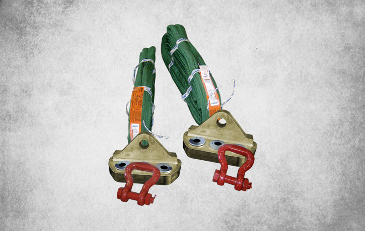 Lifting bracket and tailing bracket made by ELT