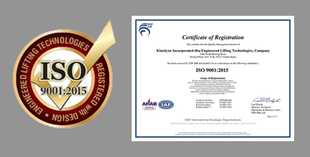 ISO Certification – ELT Engineered Lifting Technologies